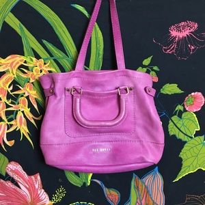 TED BAKER / HOT PINK HANDBAG